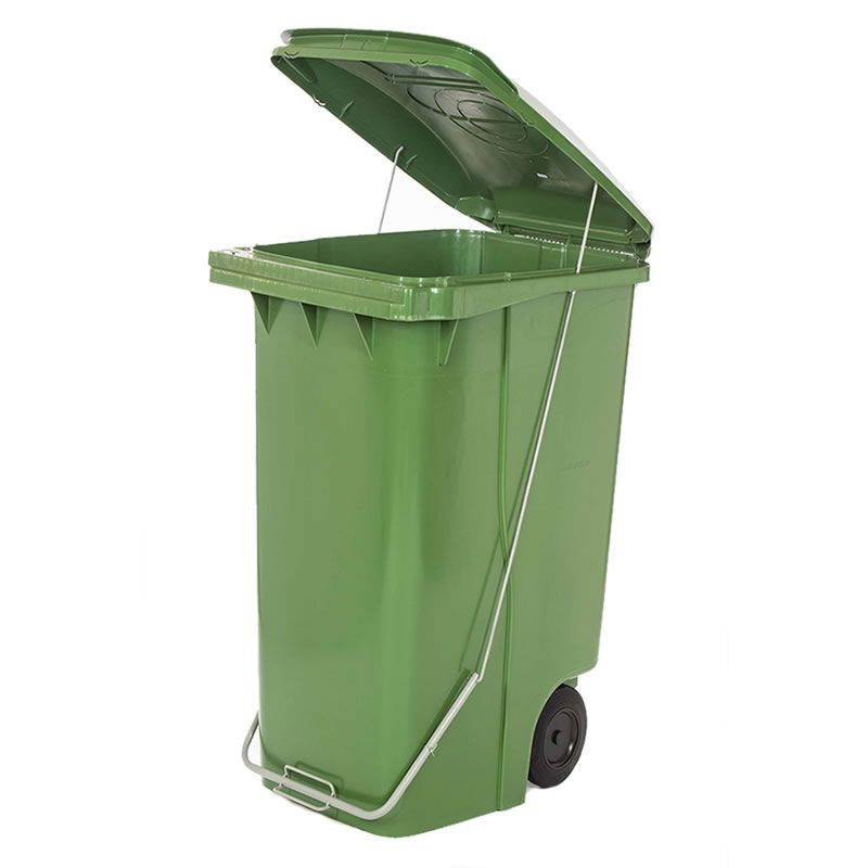 Contentor de Lixo 120 Litros com Pedal - Contemar