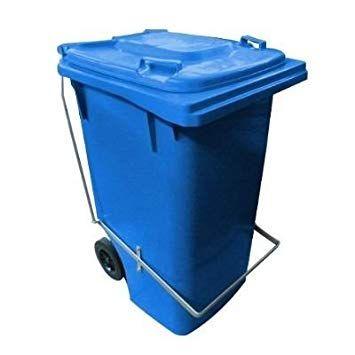 Contentor de Lixo 240 Litros com Pedal - Bralimpia
