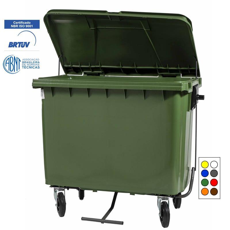 Contentor para Lixo 660 Litros com Pedal - Contemar