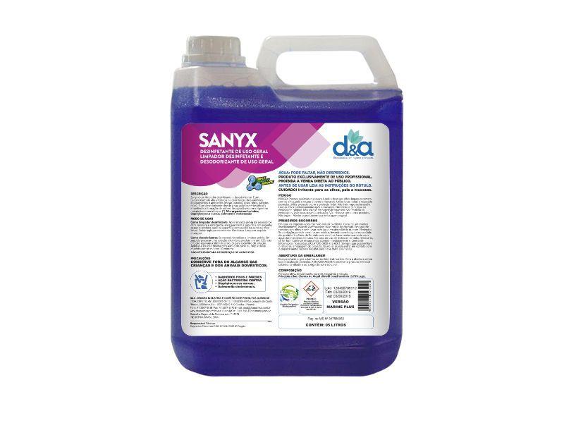 Desinfetante Concentrado - Sanyx Marine