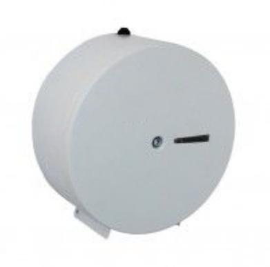 Dispenser De Papel Higiênico com suporte para cadeado 400m Em Aço com Pintura Epóxi - Aurimar