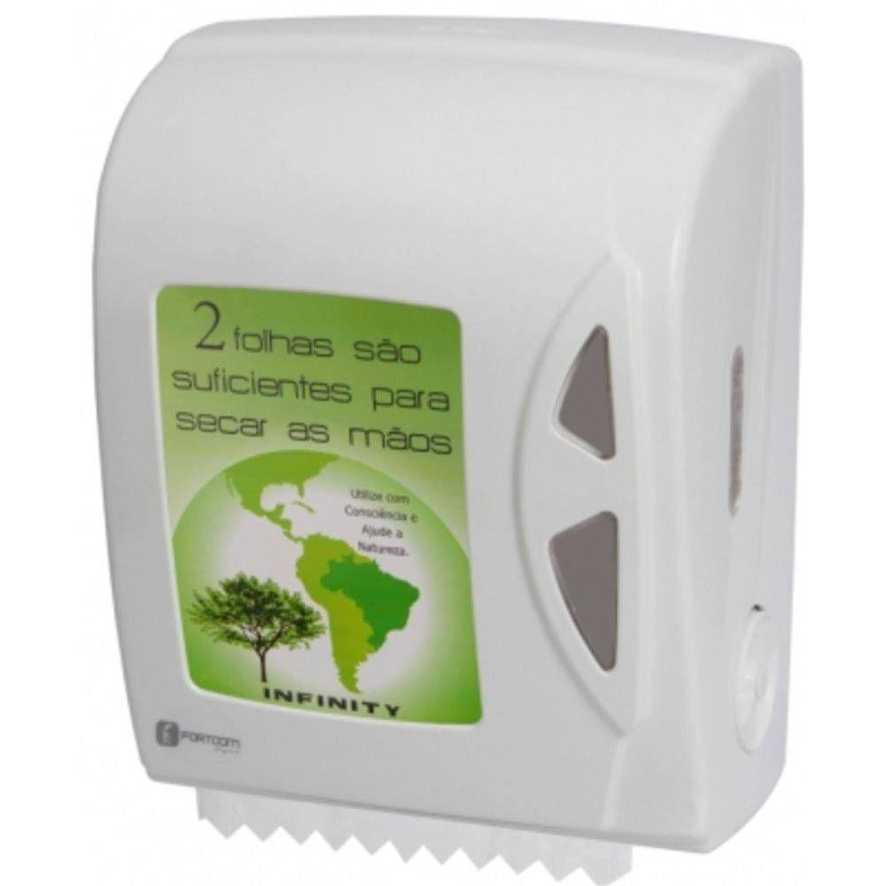 Dispenser p/ Papel Toalha Bobina Autocorte - Fortcom