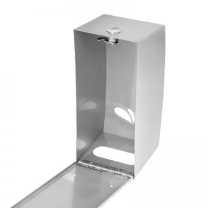 Dispenser Papel Higiênico Cai Cai Aço Inox Escovado - Biovis Linha Noble 1054
