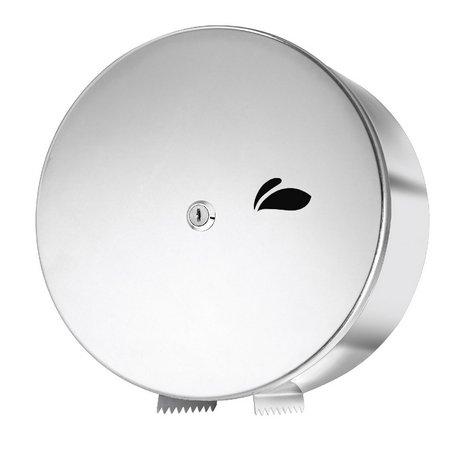 Dispenser Papel Higiênico Rolão em Aço Inox Polido - Biovis Linha Visium 13.02