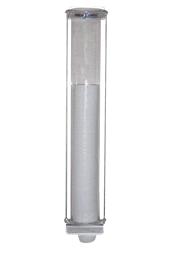 Dispenser para copos descartáveis em acrílico - Café - MSP026 - MetalSuga