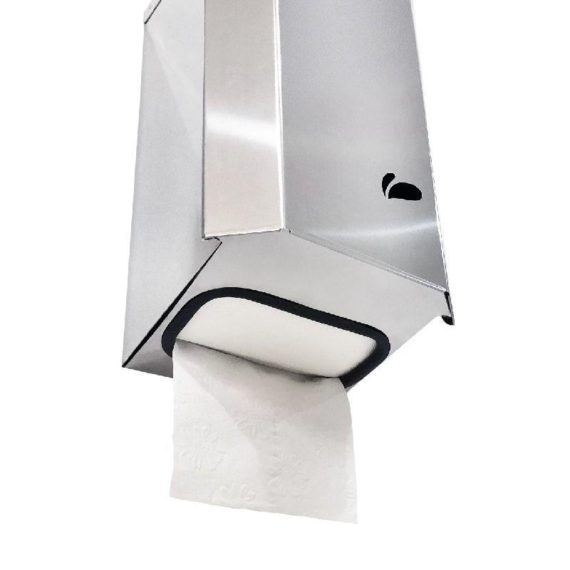 Dispenser para Papel Higiênico Cai Cai em Aço Inox - Biovis