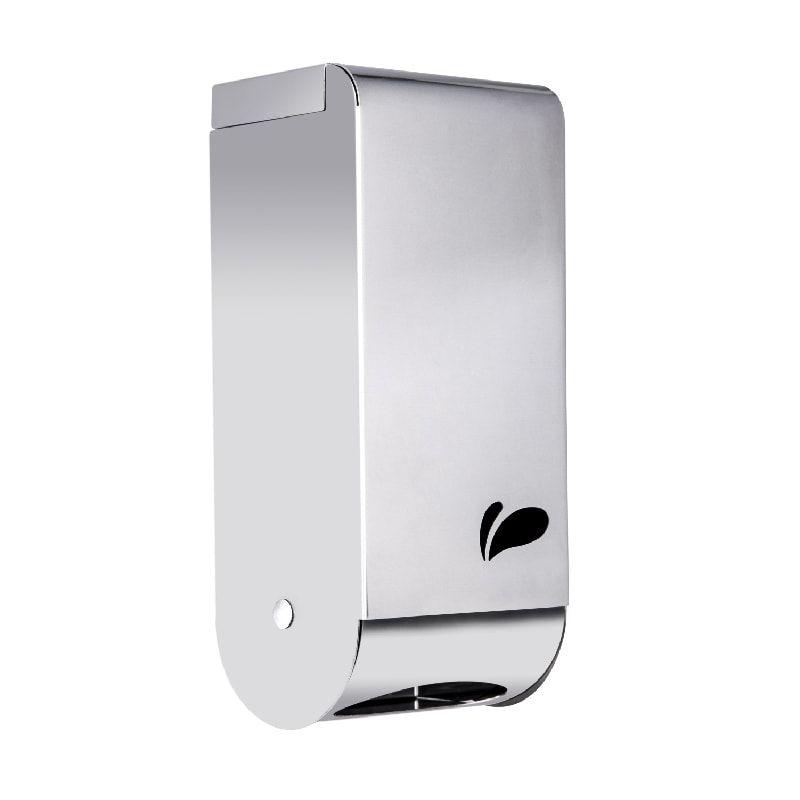 Dispenser Papel Higiênico Cai Cai em Aço Inox Polido - Biovis Linha Visium 13.06