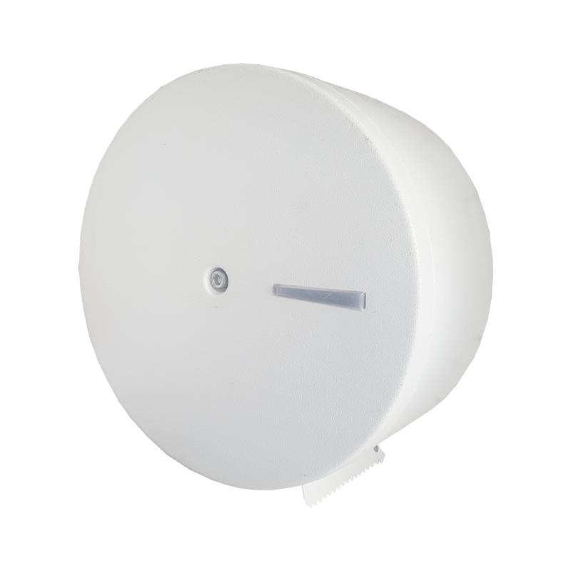 Dispenser para Papel Higiênico Rolão 400m em Aço com Pintura Epoxi Branco - Aurimar
