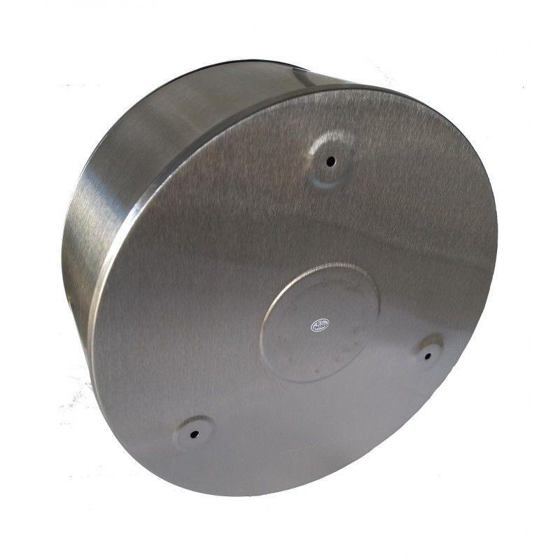 Dispenser Papel Higiênico Rolão Aço Inox Escovado - Biovis Linha Noble 1028