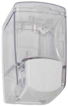 Dispenser para Sabonete Líquido 400ml Cristal Infinity Midy Box - Fortcom