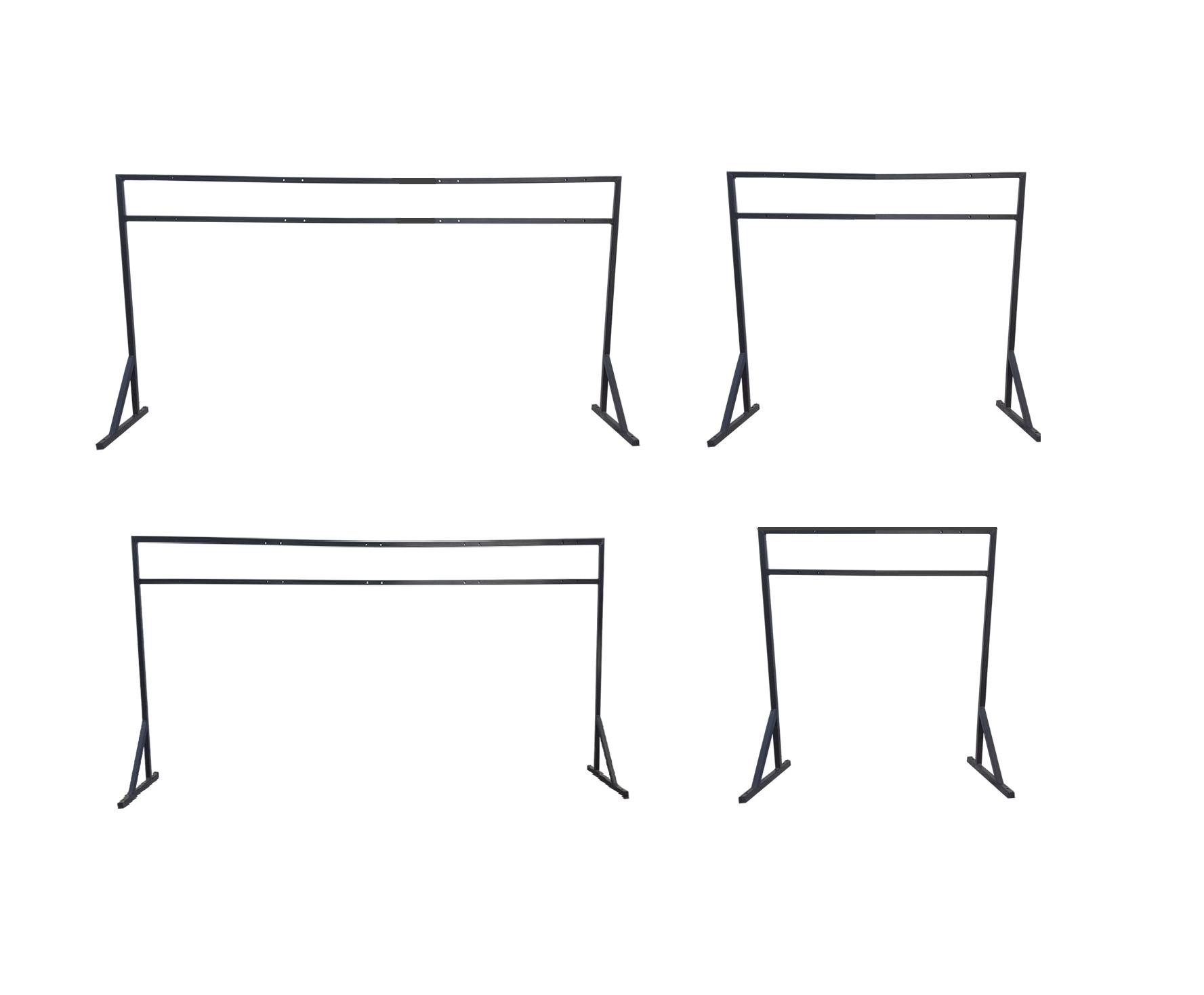 Estrutura Metálica para Fixação de Coletores 50L