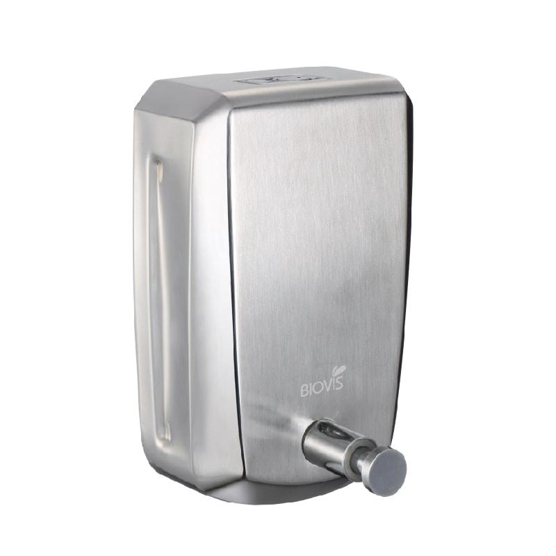 KIT com Toalheiro Inox Noble + Saboneteira Inox Noble 800ml  + Porta Papel Higiênico Cai Cai Noble - BIOVIS
