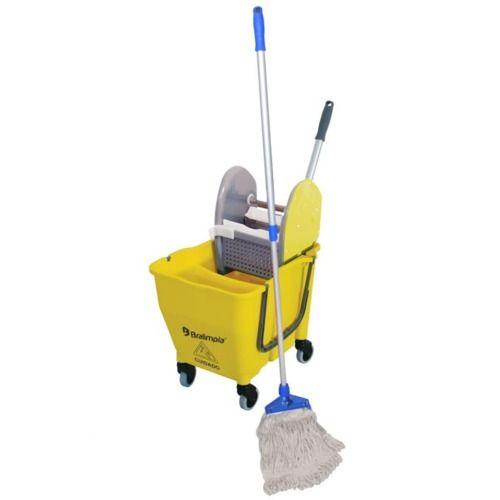Kit Profissional - Balde Espremedor Completo para Limpeza - Bralimpia NYKT01 - KIT 1