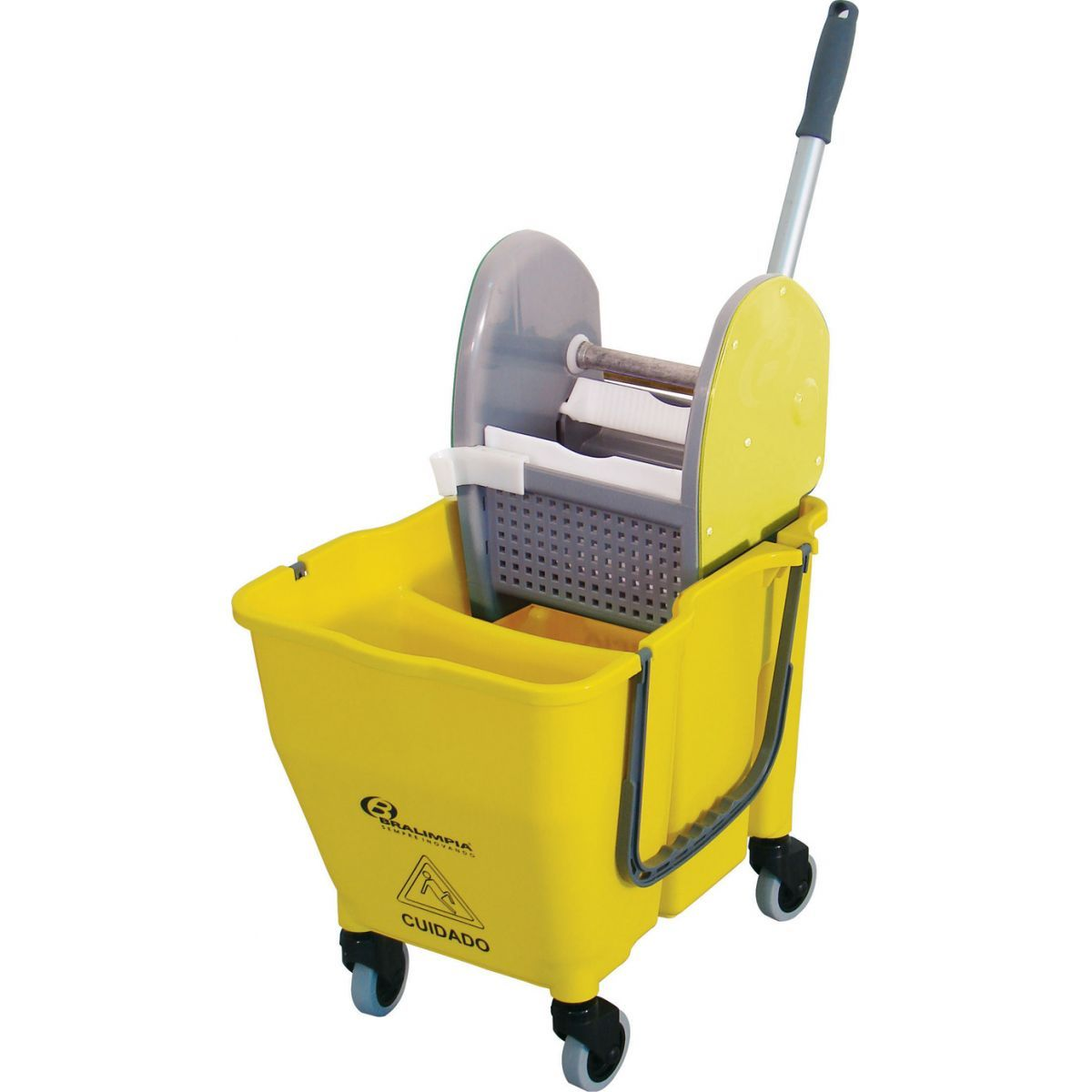 Kit Profissional Carrinho de Limpeza Completo - Bralimpia NYKT03 KIT 3