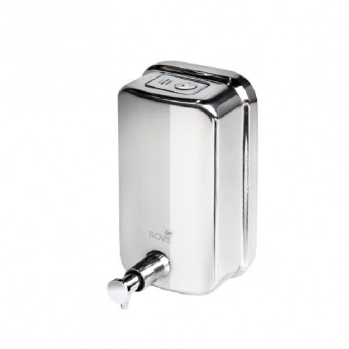 KIT com Toalheiro Inox Ideal + Saboneteira Inox Visium 500ml + Porta Papel Higiênico Cai Cai inox Ideal