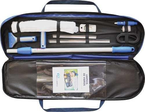 Kit Profissional para Limpeza de Vidros - Bralimpia