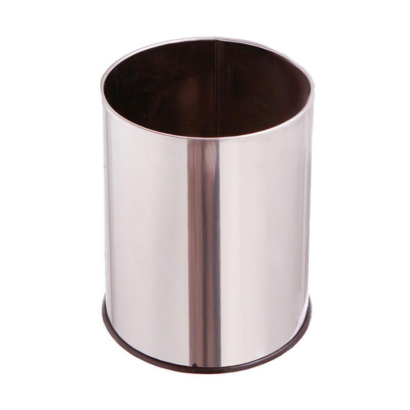 Lixeira Aço Inox 15 Litros - MetalSuga