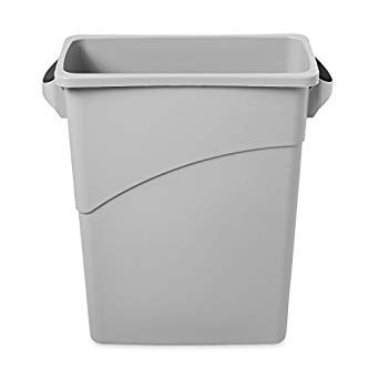 Lixeira Recipiente Slim Jim 60L - Cinza - FG354100LGRAY - Rubbermaid