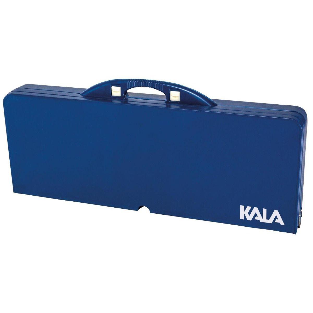 Mesa Dobrável de Alumínio com Banquetas - Kala