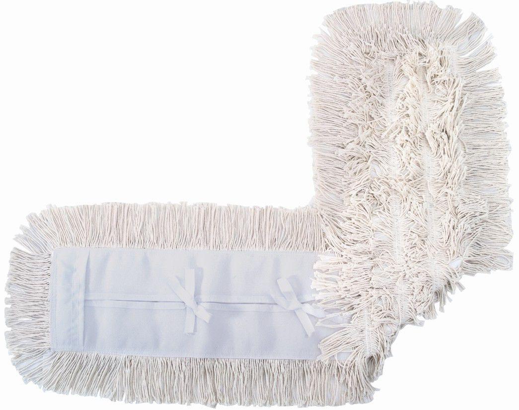 Mop pó algodão - ponta cortada - 120cm - 111702 - ref. 1205 - Rubbermaid