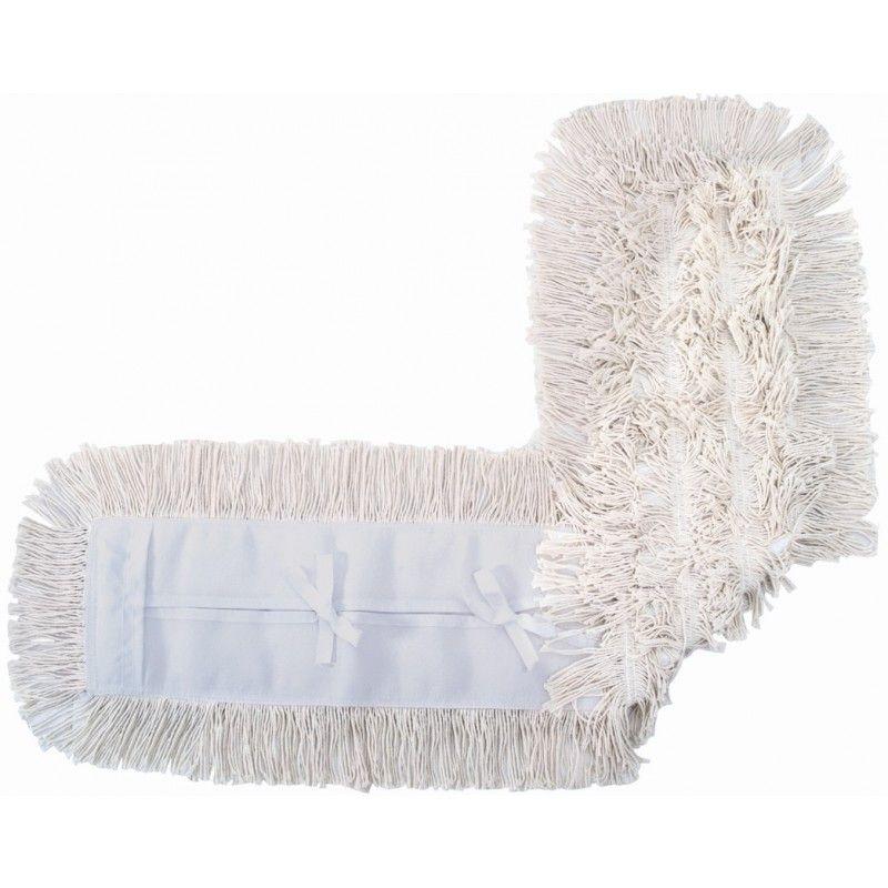 Mop pó algodão - ponta dobrada - 120cm - 111712 - ref. 1255 - Rubbermaid