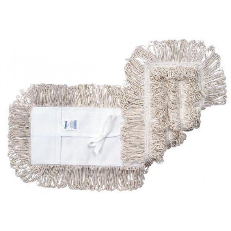 Mop pó algodão - ponta dobrada - 80cm - 111718 - ref. 1253 - Rubbermaid