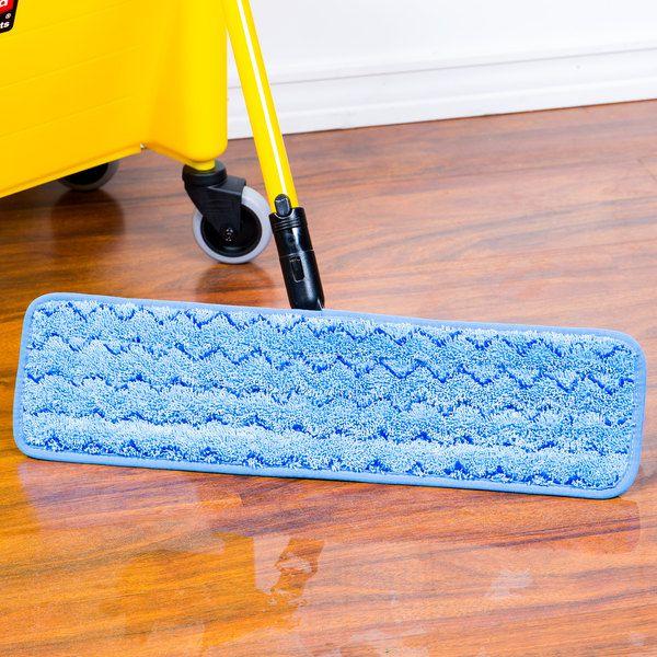Mop Úmido Microfibra Azul - 47cm - Rubbermaid