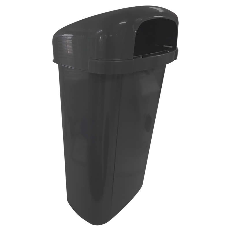 Lixeira plástico PEAD  - DINA - 50 Litros - Contemar