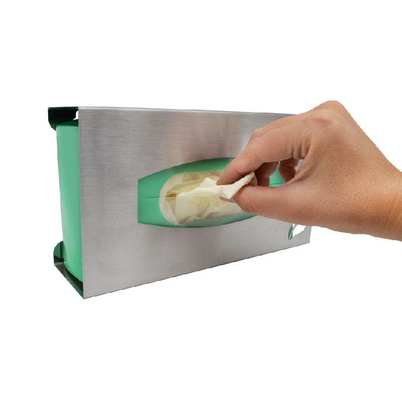 Porta Luvas Inox Escovado - Biovis