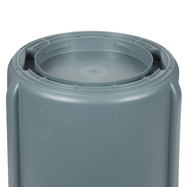 Recipiente Brute com Canais de Ventilação Cinza 75L - ref. FG2620GRAY - Rubbermaid