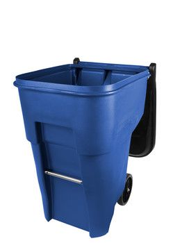 Recipiente Brute com Rodas 360L Azul FG9W2273BLUE - Rubbermaid