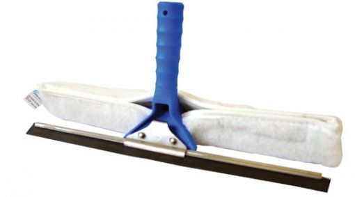 Rodo Combinado Limpa Vidros 25cm com Cabo 60cm - Bralimpia