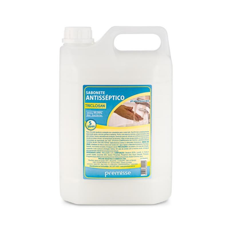 Sabonete Líquido Antisséptico 5L - Premisse