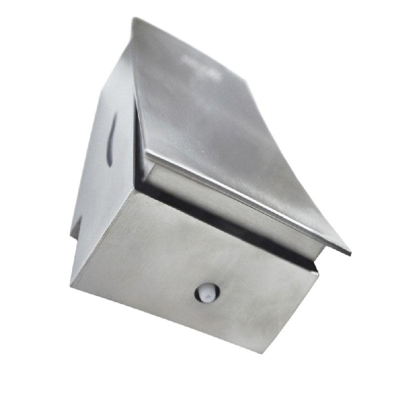 Dispenser Sabonete Líquido Aço Inox Escovado Slim 800ml - Biovis Linha Noble 1060