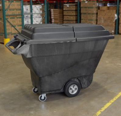 Tampa para Carro Basculante 567kg / 800Lts - FG9T2300BLA - Rubbermaid