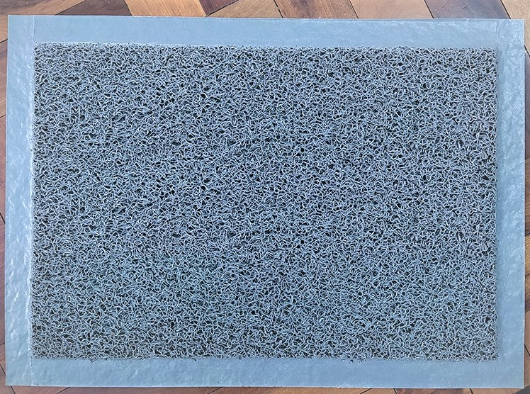 Tapete Higienizador Sanitizante em VINIL - GRANDE - com borda 120 cm X 60 cm