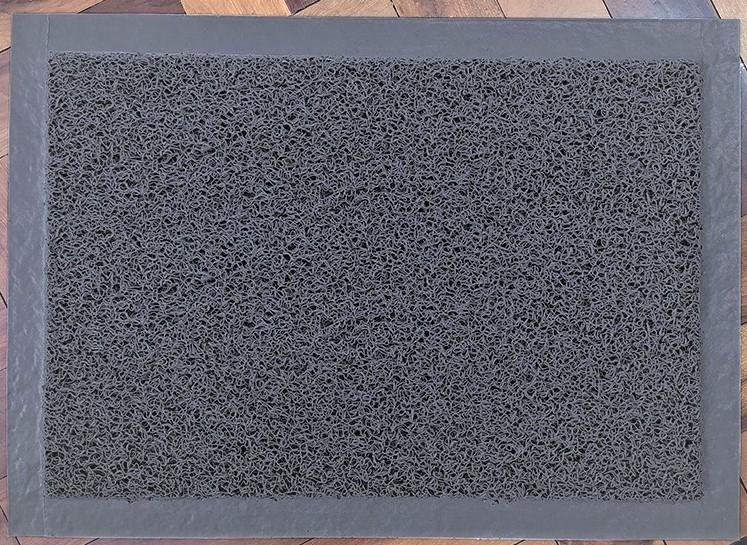 Tapete Higienizador Sanitizante em VINIL - MÉDIO - com borda 70 cm X 50 cm