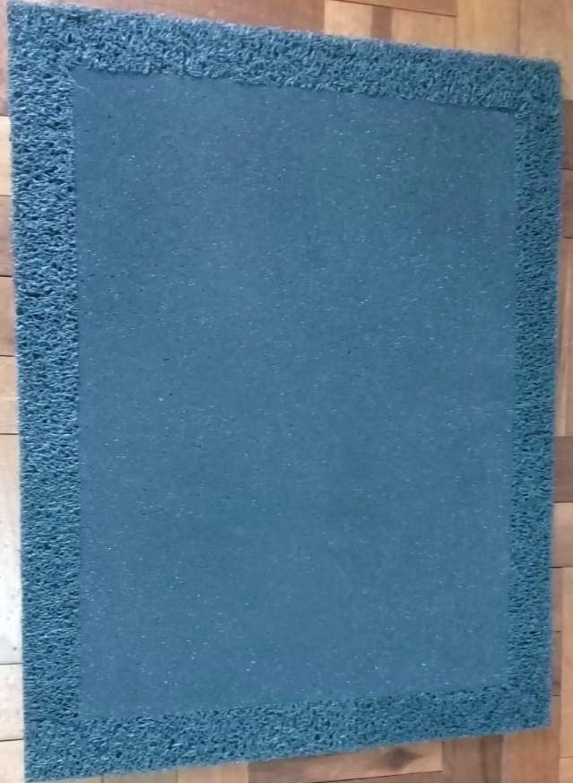 Tapete Higienizador Sanitizante 70cm X 55cm - espuma com borda de vinil