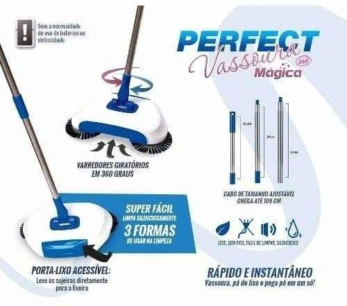 Vassoura Mágica 360º - Perfect
