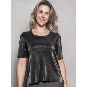 BLUSA PLEAT GOLD