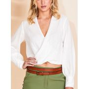 BLUSA SOLID JULIANA BLOUSE