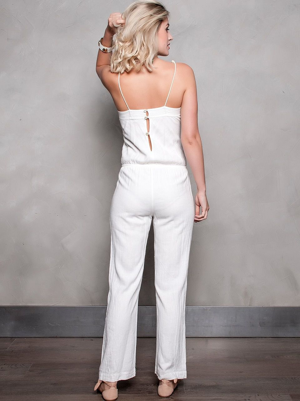 JUMPSUIT MARCE OFF WHITE