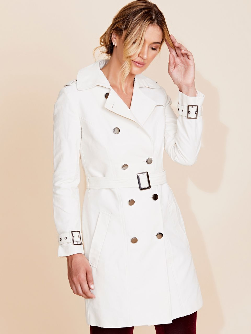 TRENCH COAT BOTÕES FENDI