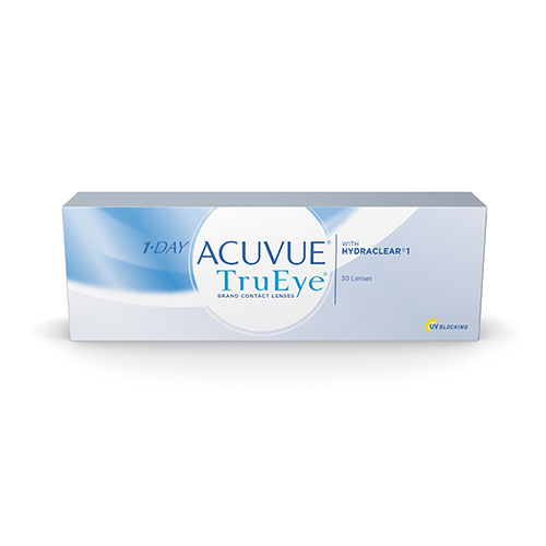 """Acuvue 1 Day TrueEye com Hydraclear Disponível em Grau Esférico """"-02,00"""""""