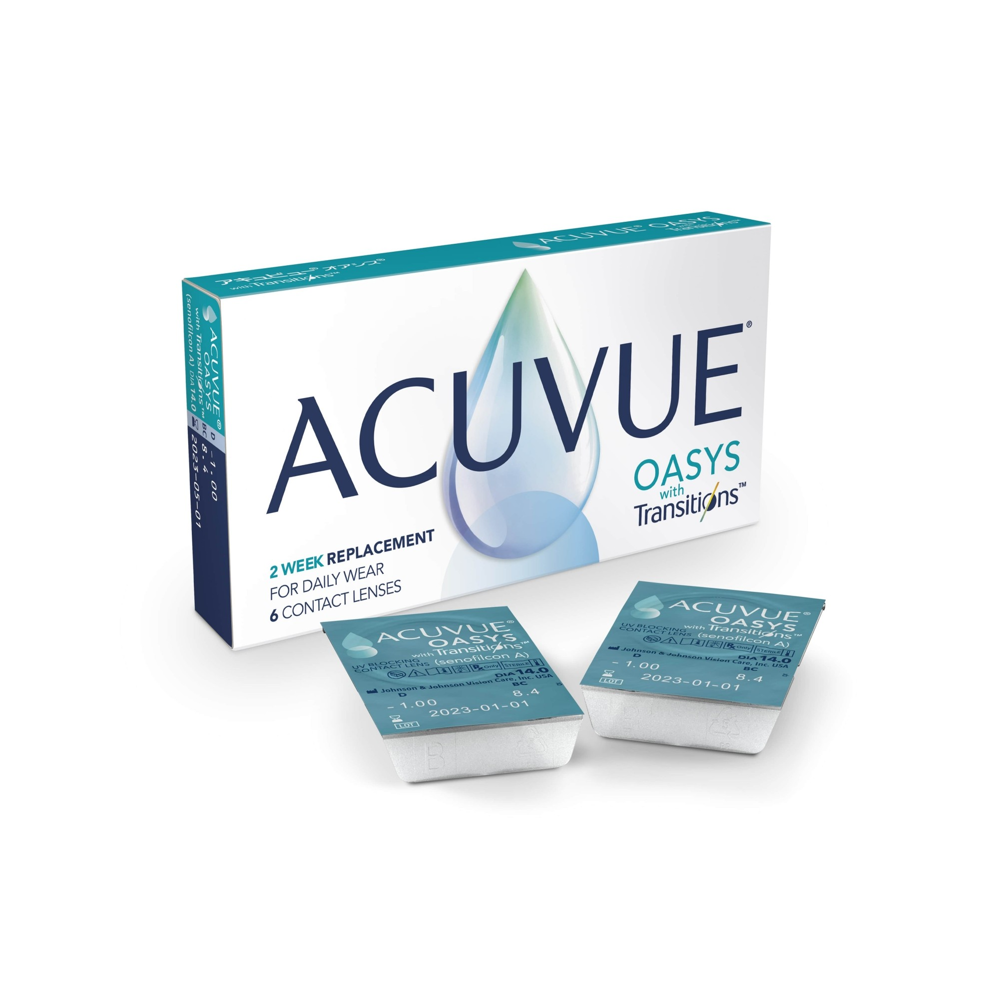 Acuvue Oasys Com Transitions Leve 4 pague 3