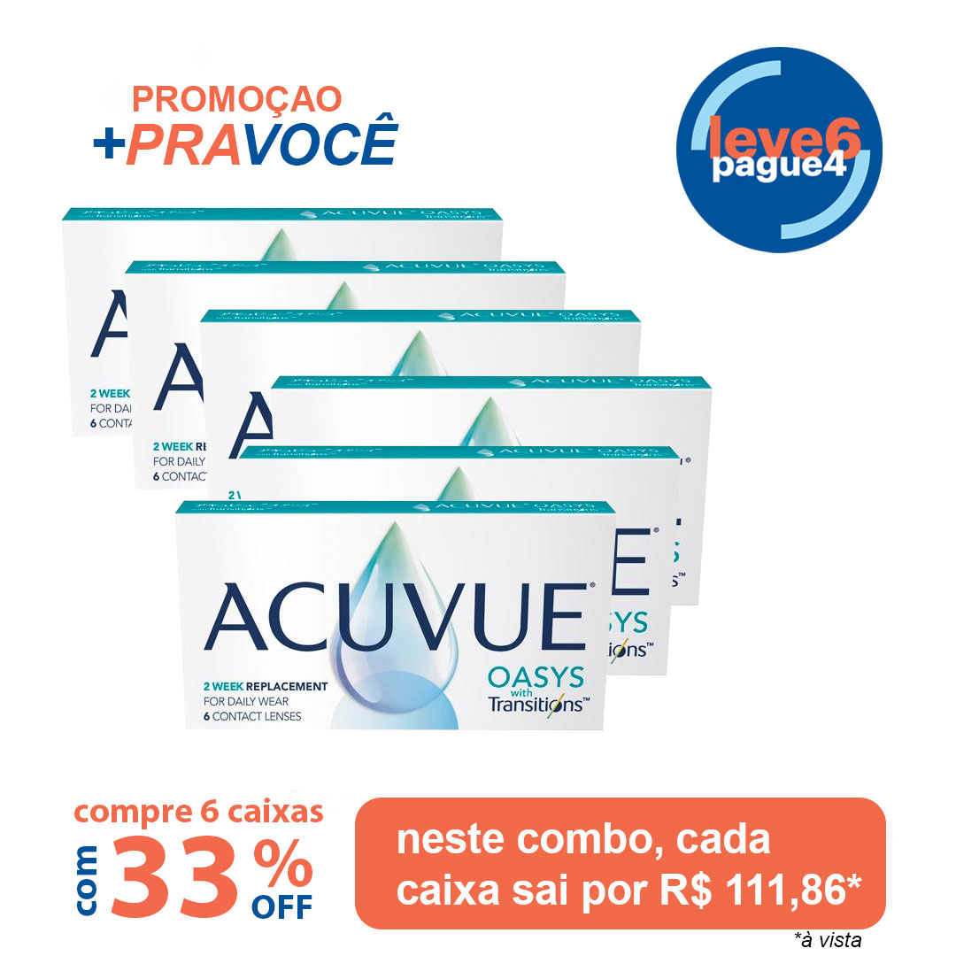 Acuvue Oasys Com Transitions Leve 6 pague 4