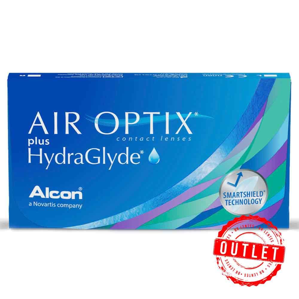 Air Optix Hydraglyde Graus Positivos