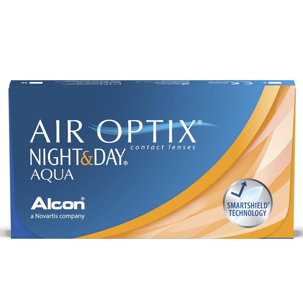 """Air Optix Night Day - Disponível em Grau Esférico """"-06,50"""""""