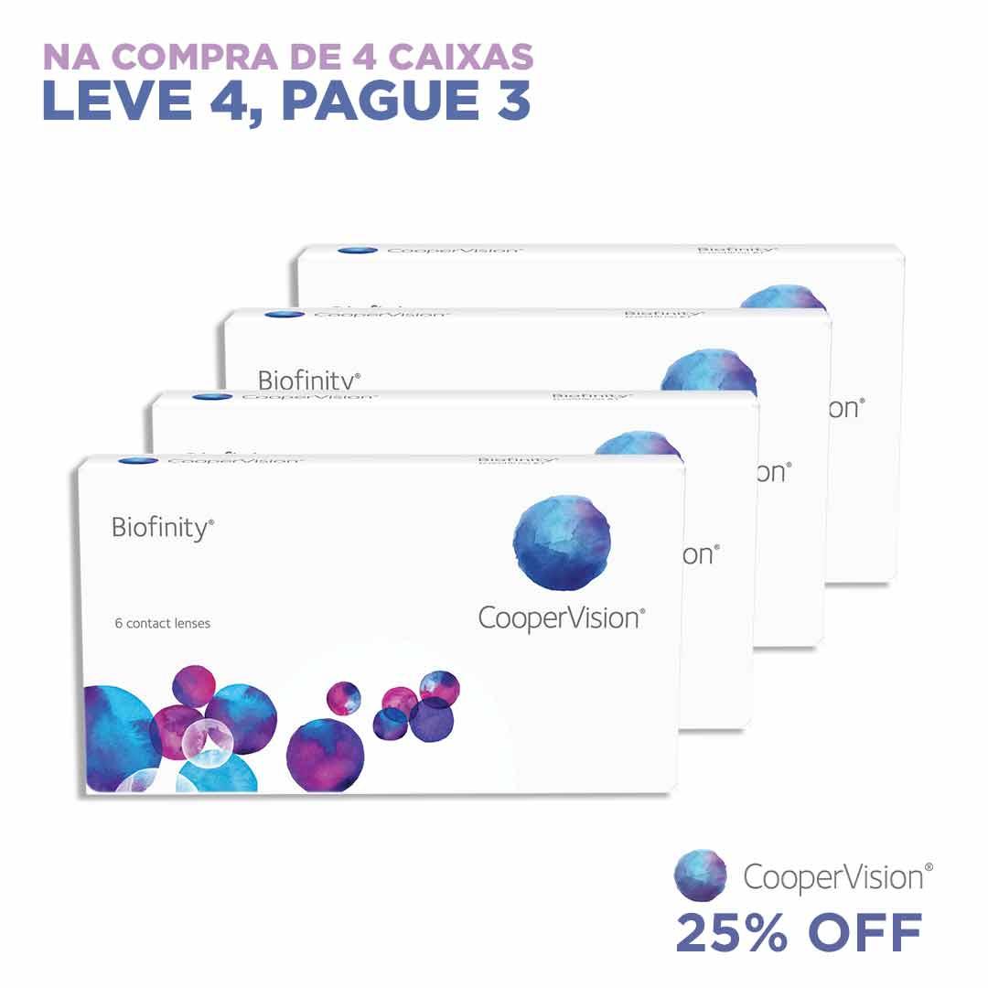 Biofinity - Leve 4 Pague 3