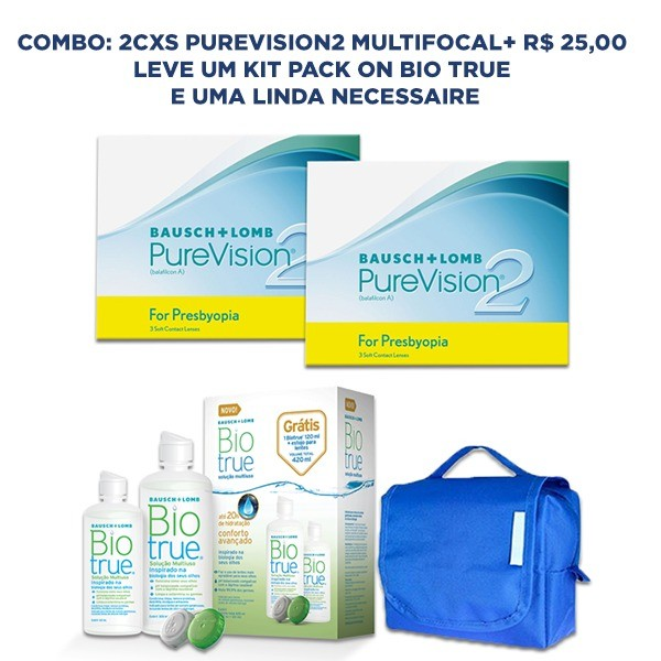 Combo Purevision2 Multifocal